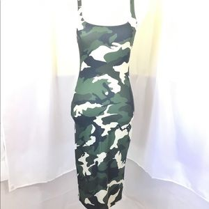Zara Dresses - ZARA NWOT CAMO DRESS